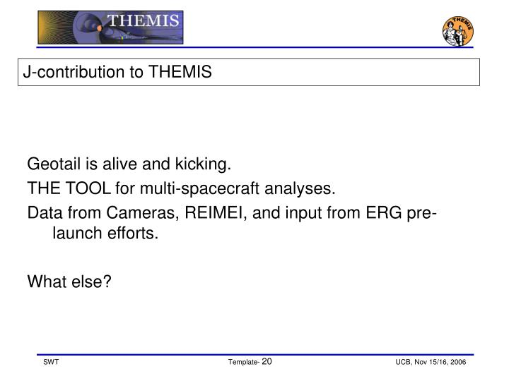 J-contribution to THEMIS