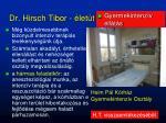 dr hirsch tibor let t2
