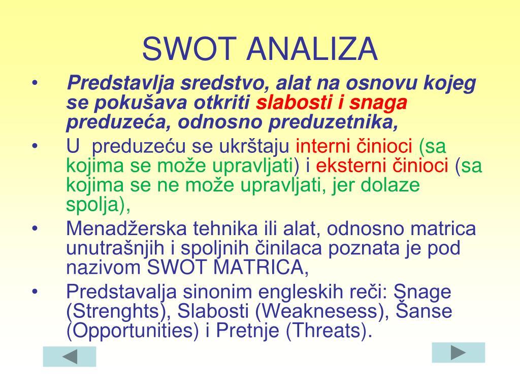 PPT - STRATEGIJA I STRATEŠKO PLANIRANJE PowerPoint ...