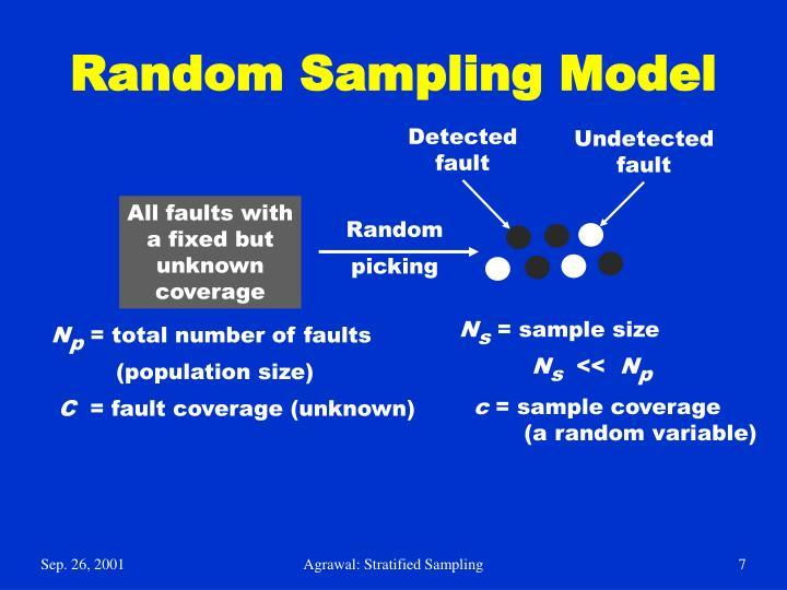 Random Sampling Model