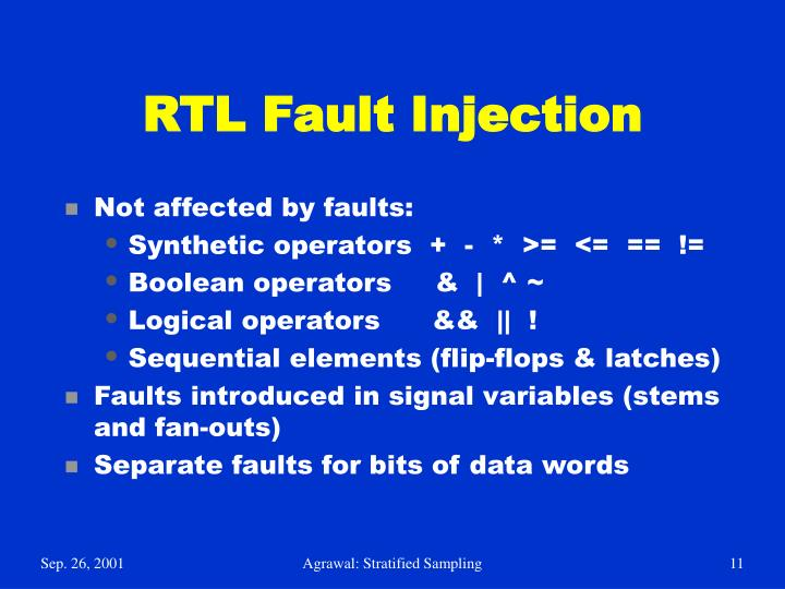 RTL Fault Injection