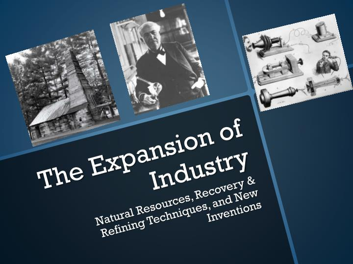 the expansion of industry n.