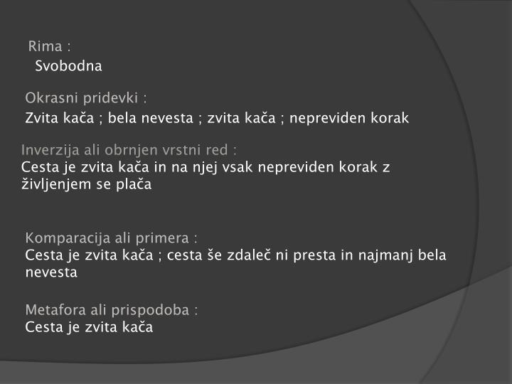Rima :
