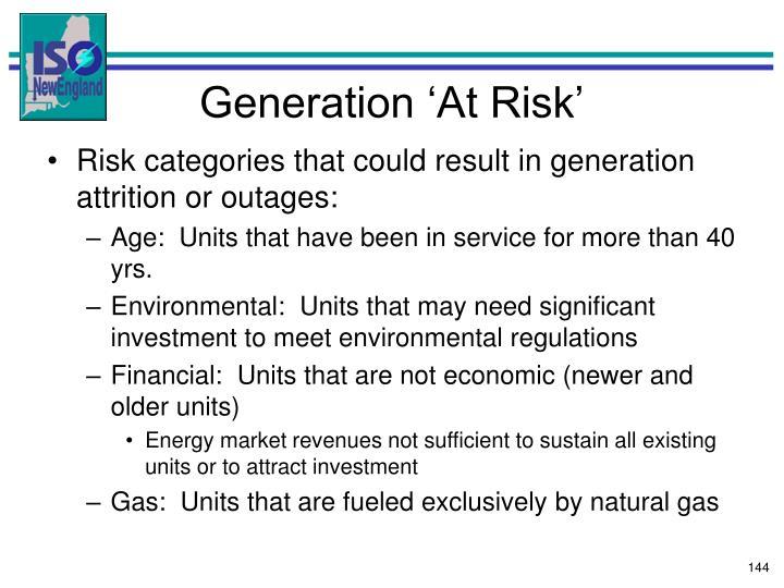 Generation 'At Risk'