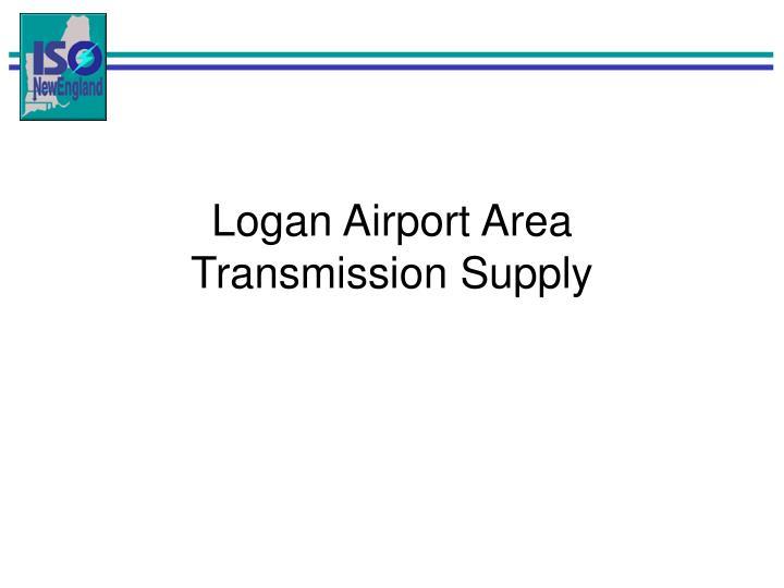 Logan Airport Area