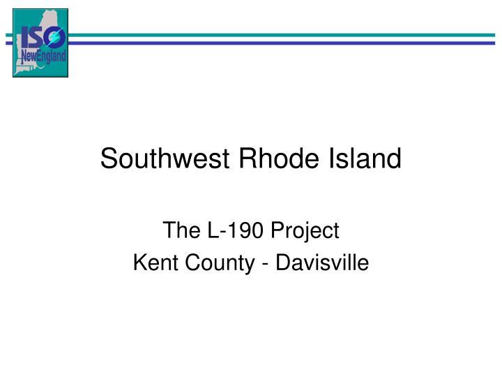 Southwest Rhode Island