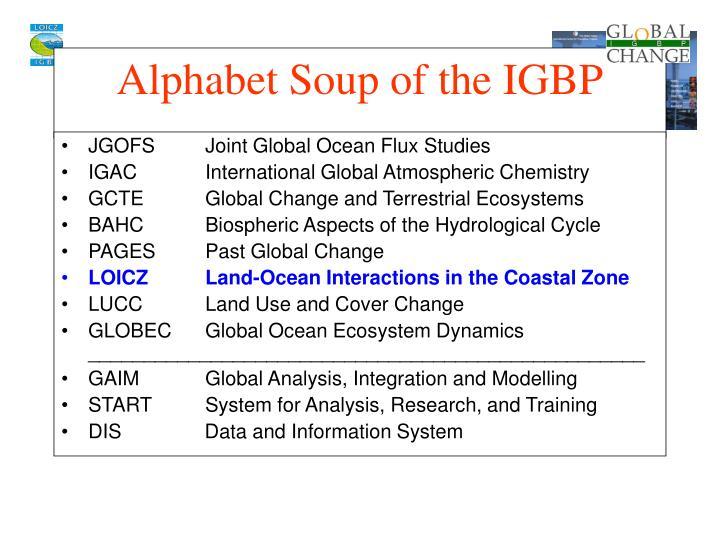 JGOFSJoint Global Ocean Flux Studies