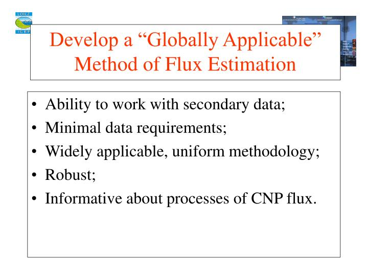Ability to work with secondary data;