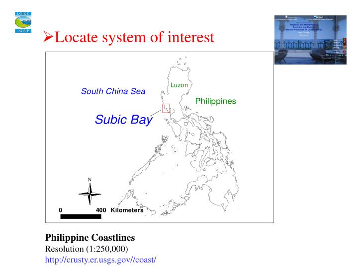 Locate system of interest