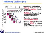 pipelining lessons 1 2