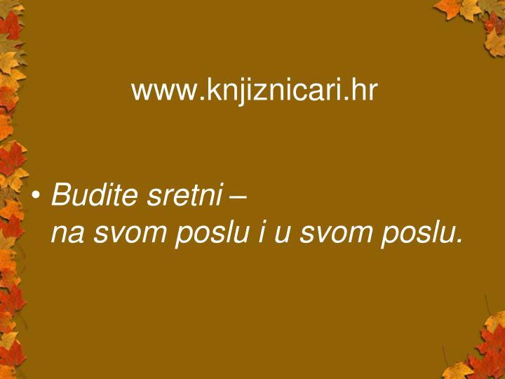 www.knjiznicari.hr