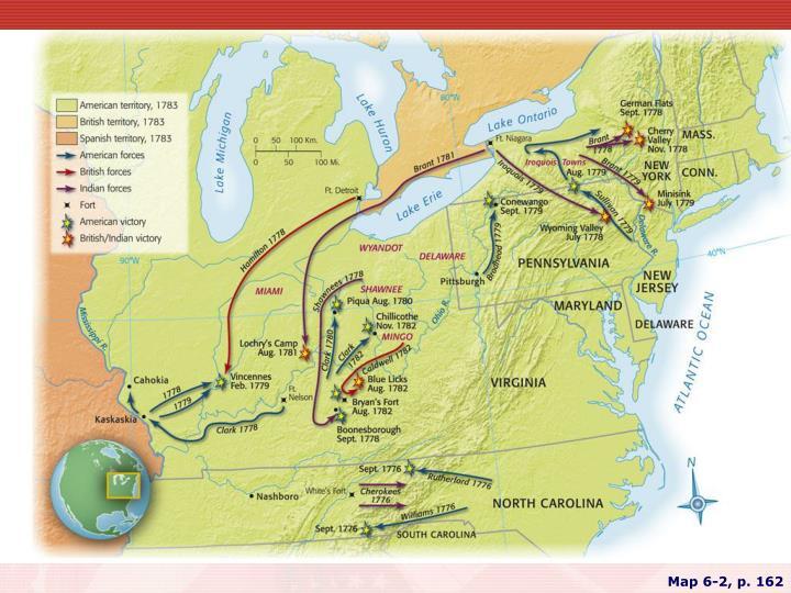 Map 6-2, p. 162