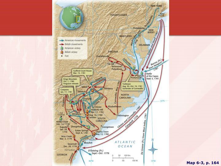 Map 6-3, p. 164