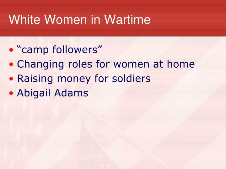 White Women in Wartime
