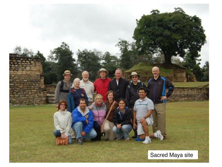 Sacred Maya site