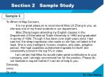 section 2 sample study10