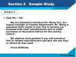 section 2 sample study9