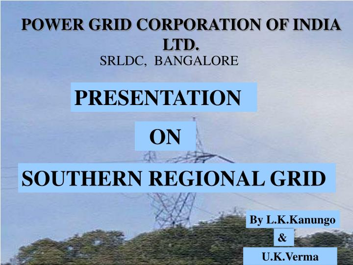 power grid corporation of india ltd n.