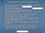 problems faced in operation2