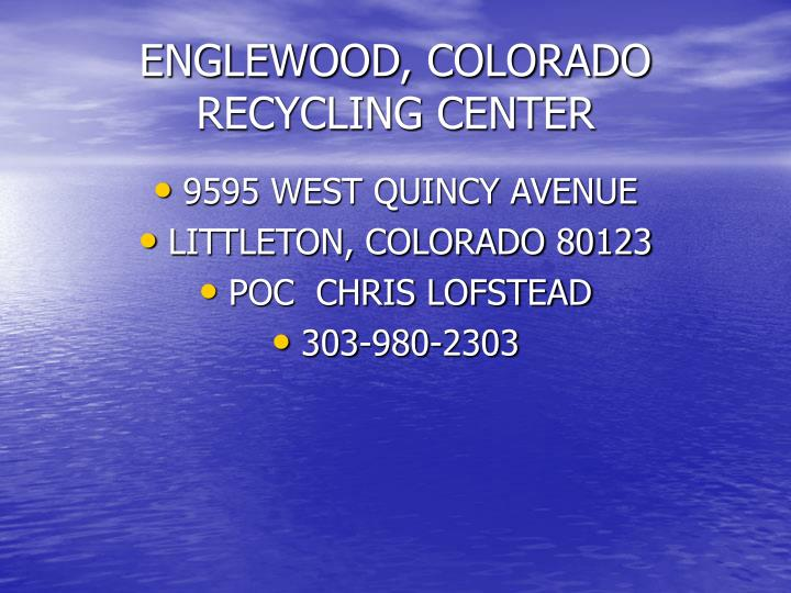ENGLEWOOD, COLORADO