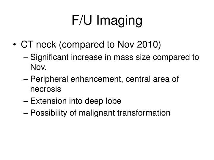 F/U Imaging