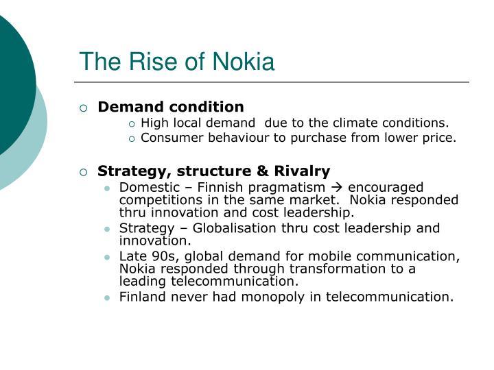 nokia cost leadership strategy