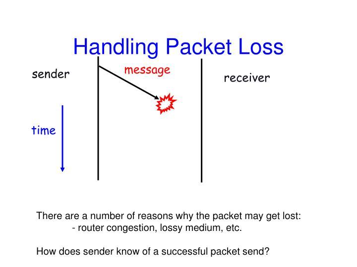 Handling Packet Loss