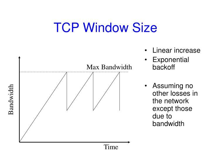 TCP Window Size