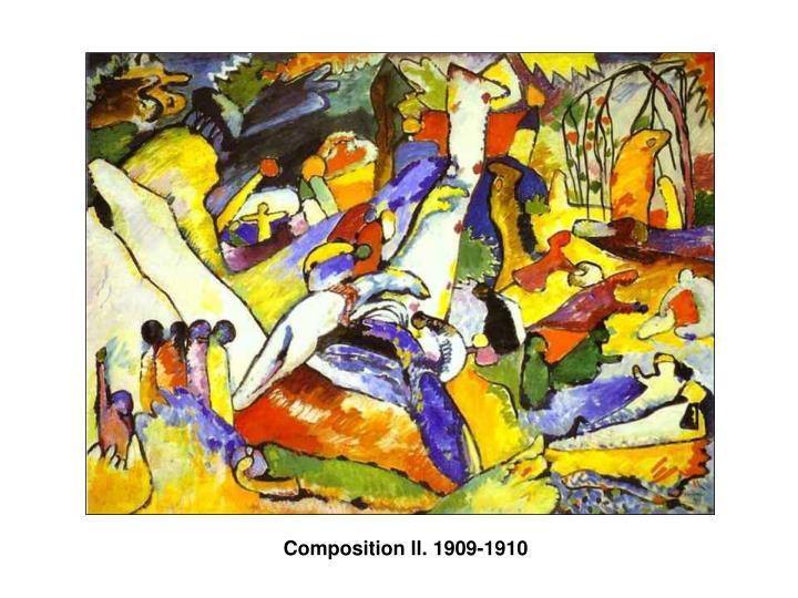 Composition ll. 1909-1910