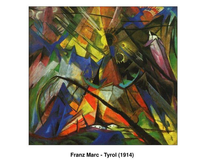 Franz Marc - Tyrol (1914)