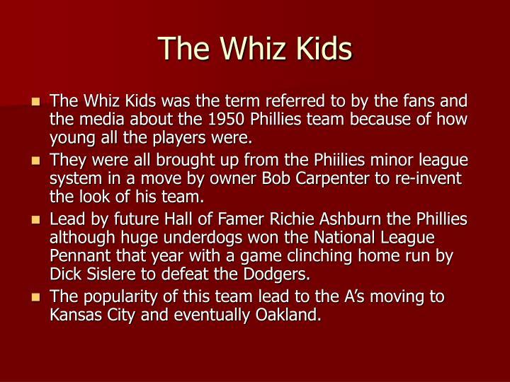 The Whiz Kids