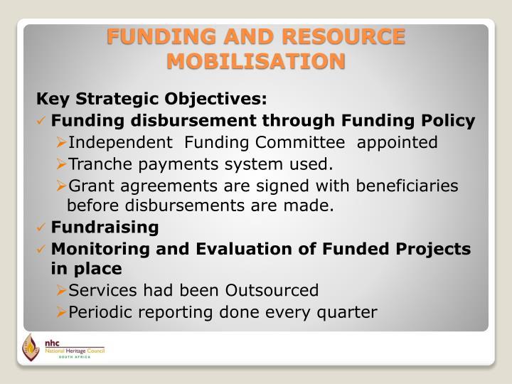 Key Strategic Objectives: