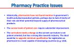 pharmacy practice issues1