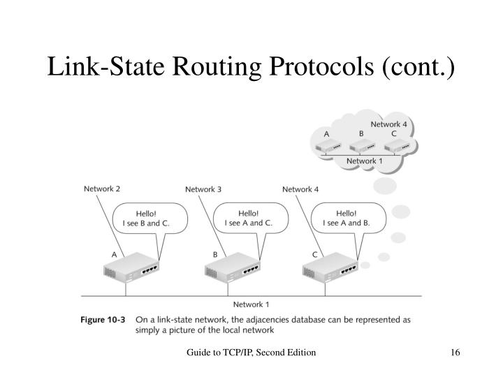 Link-State Routing Protocols (cont.)