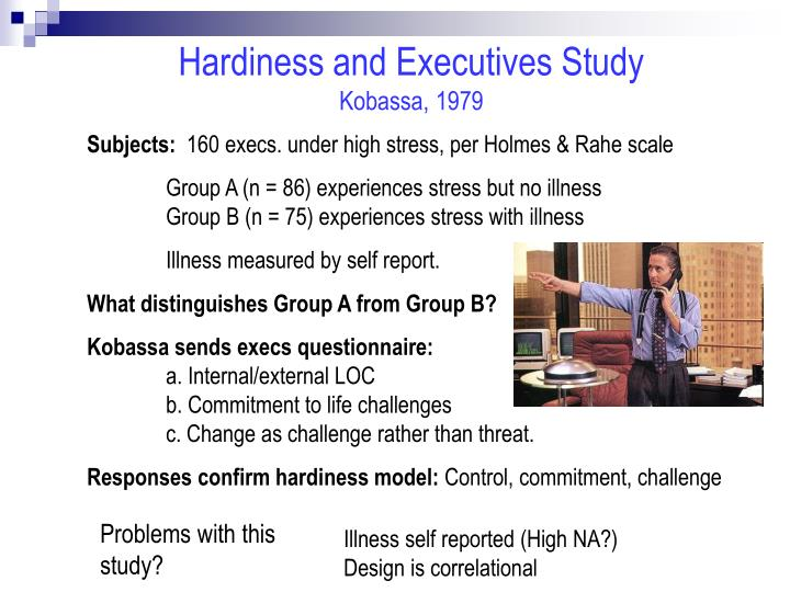 Hardiness and Executives Study