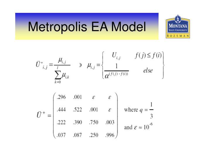 Metropolis EA Model