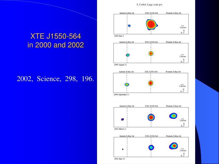 XTE J1550-564