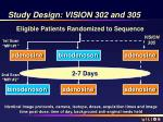 study design vision 302 and 305