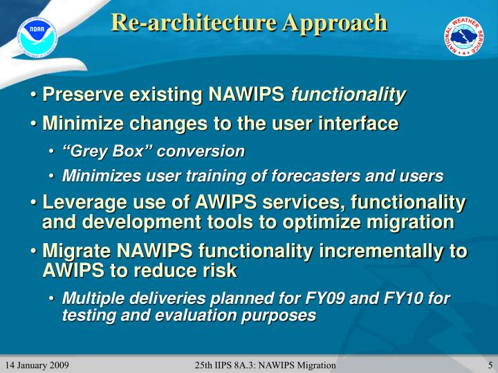 Re-architecture Approach