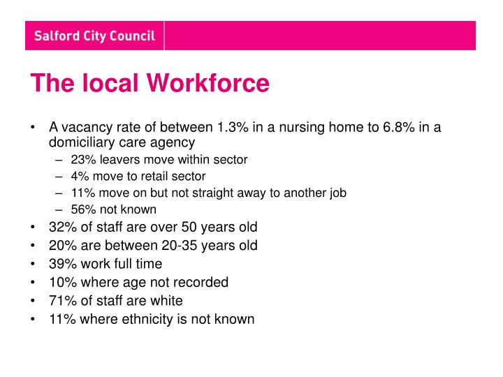 The local Workforce