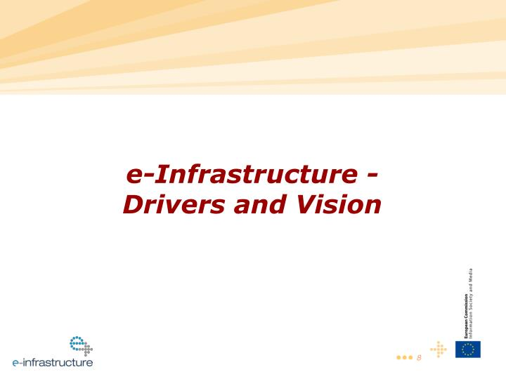 e-Infrastructure -