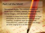part i of the nmat4