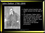 john dalton 1766 1844