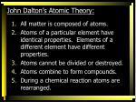 john dalton s atomic theory1