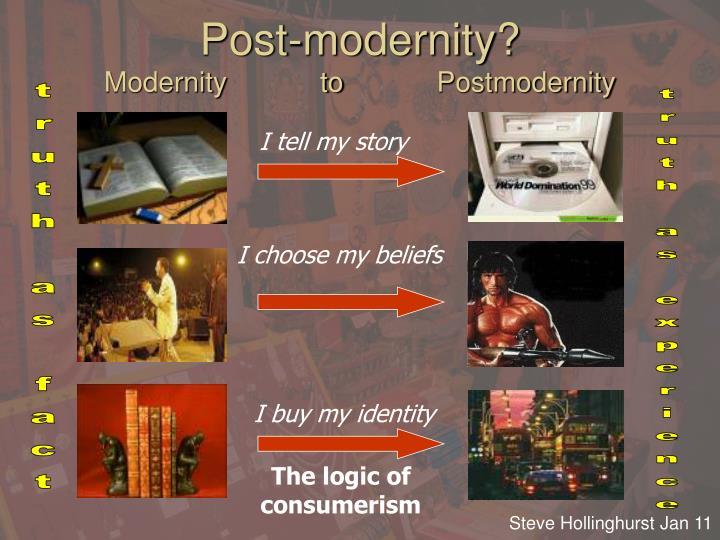 Post-modernity?