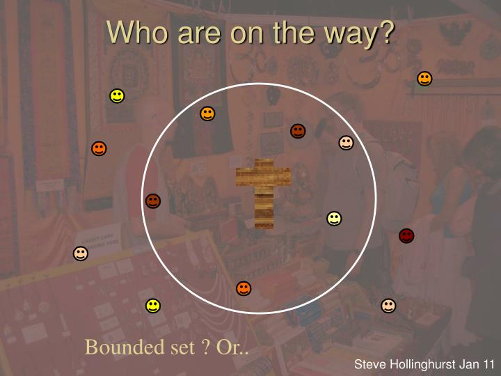 Who are on the way?