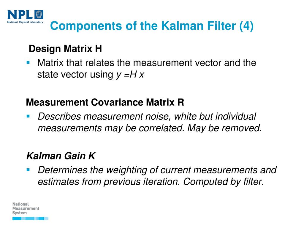 PPT - Use of Kalman filters in time and frequency analysis