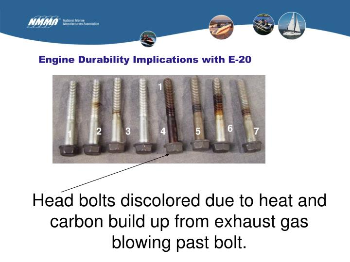 Engine Durability Implications with E-20