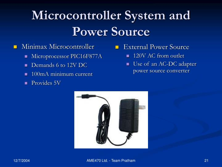 Microcontroller System and