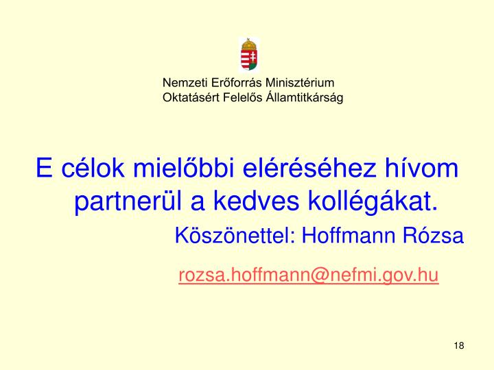 Nemzeti Erőforrás Minisztérium